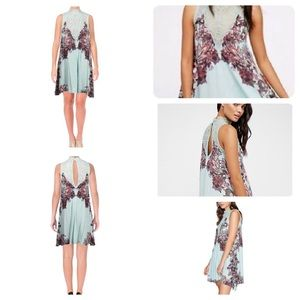 Free People Marsha Printed Dress - S, NWT